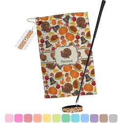 Traditional Thanksgiving Golf Towel Gift Set (Personalized)