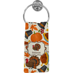 Traditional Thanksgiving Hand Towel - Full Print (Personalized)