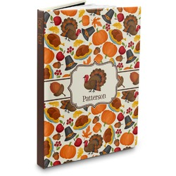 Traditional Thanksgiving Hardbound Journal (Personalized)