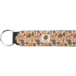 Traditional Thanksgiving Keychain Fob (Personalized)