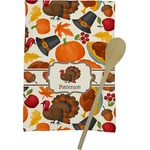 Traditional Thanksgiving Kitchen Towel - Full Print (Personalized)