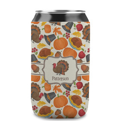 Traditional Thanksgiving Can Sleeve (12 oz) (Personalized)