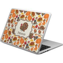 Traditional Thanksgiving Laptop Skin - Custom Sized (Personalized)