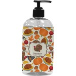 Traditional Thanksgiving Plastic Soap / Lotion Dispenser (Personalized)