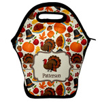 Traditional Thanksgiving Lunch Bag w/ Name or Text