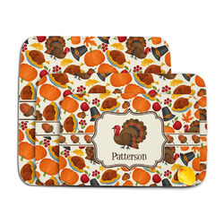 Traditional Thanksgiving Memory Foam Bath Mat (Personalized)