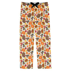 Traditional Thanksgiving Mens Pajama Pants (Personalized)