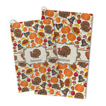 Traditional Thanksgiving Microfiber Golf Towel (Personalized)