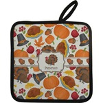 Traditional Thanksgiving Pot Holder (Personalized)