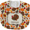 Traditional Thanksgiving New Baby Bib - Closed and Folded