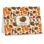Traditional Thanksgiving Note cards (Personalized)