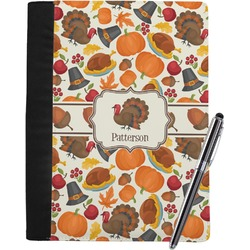 Traditional Thanksgiving Notebook Padfolio (Personalized)
