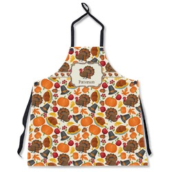 Traditional Thanksgiving Apron Without Pockets w/ Name or Text
