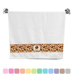 Traditional Thanksgiving Bath Towel (Personalized)