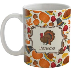 Traditional Thanksgiving Coffee Mug (Personalized)