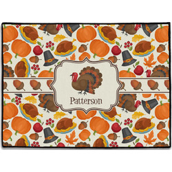 Traditional Thanksgiving Door Mat (Personalized)