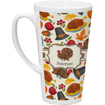 Traditional Thanksgiving Latte Mug (Personalized)
