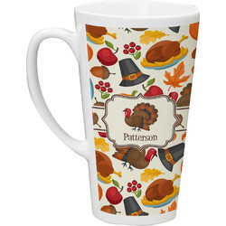 Traditional Thanksgiving Latte Mug (Personalized)