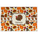 Traditional Thanksgiving Laminated Placemat w/ Name or Text