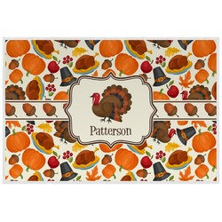 Traditional Thanksgiving Placemat (Laminated) (Personalized)