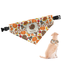 Traditional Thanksgiving Dog Bandana - Large (Personalized)