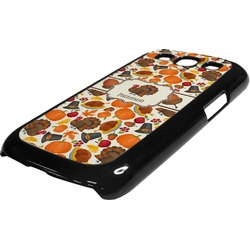 Traditional Thanksgiving Plastic Samsung Galaxy 3 Phone Case (Personalized)