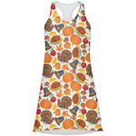Traditional Thanksgiving Racerback Dress (Personalized)