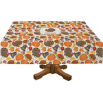 Traditional Thanksgiving Rectangle Tablecloth (Personalized)