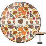 Traditional Thanksgiving Round Table (Personalized)