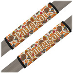 Traditional Thanksgiving Seat Belt Covers (Set of 2) (Personalized)