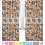 Traditional Thanksgiving Sheer Curtains (Personalized)