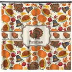 Traditional Thanksgiving Shower Curtain (Personalized)