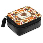 Traditional Thanksgiving Small Leatherette Travel Pill Case (Personalized)
