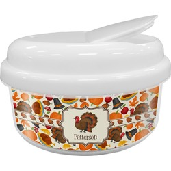 Traditional Thanksgiving Snack Container (Personalized)