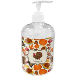 Traditional Thanksgiving Acrylic Soap & Lotion Bottle (Personalized)