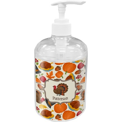 Traditional Thanksgiving Soap / Lotion Dispenser (Personalized)