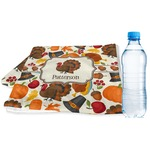 Traditional Thanksgiving Sports & Fitness Towel (Personalized)