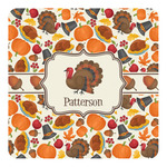 Traditional Thanksgiving Square Decal - Custom Size (Personalized)