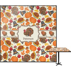 """Traditional Thanksgiving Square Table Top - 30"""" (Personalized)"""
