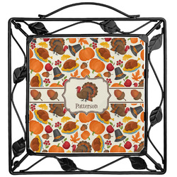 Traditional Thanksgiving Trivet (Personalized)