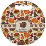 Traditional Thanksgiving Stadium Cushion (Round) (Personalized)