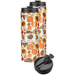 Traditional Thanksgiving Stainless Steel Skinny Tumbler (Personalized)