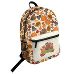 Traditional Thanksgiving Student Backpack (Personalized)