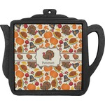 Traditional Thanksgiving Teapot Trivet (Personalized)