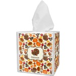 Traditional Thanksgiving Tissue Box Cover (Personalized)