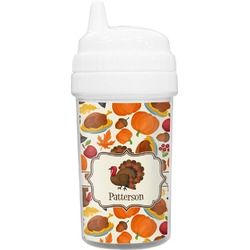 Traditional Thanksgiving Toddler Sippy Cup (Personalized)