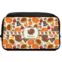 Traditional Thanksgiving Toiletry Bag / Dopp Kit (Personalized)