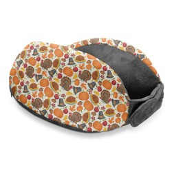 Traditional Thanksgiving Travel Neck Pillow (Personalized)