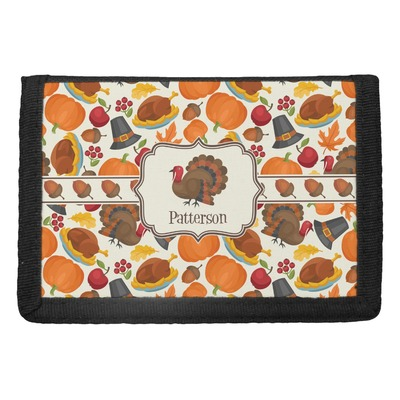 Traditional Thanksgiving Trifold Wallet (Personalized)