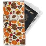 Traditional Thanksgiving Travel Document Holder